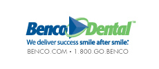 Benco Dental logo linking to Website